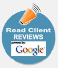 Read Google Client Reviews